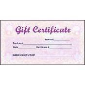 1bd68e1b2bcaa68a53495f140c9565ed $50 Gift Certificate