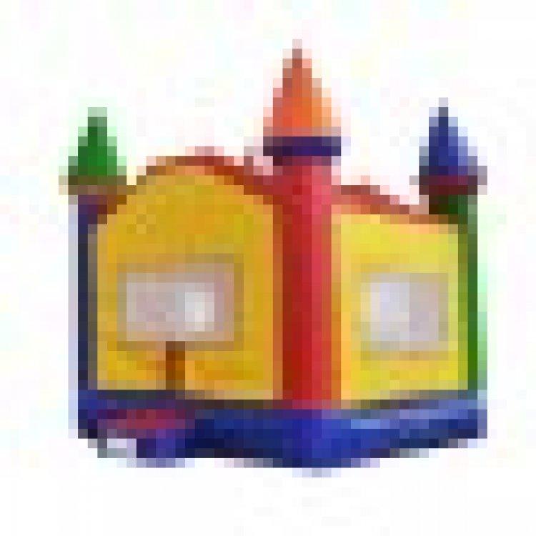 Rainbow Castle Bounce House