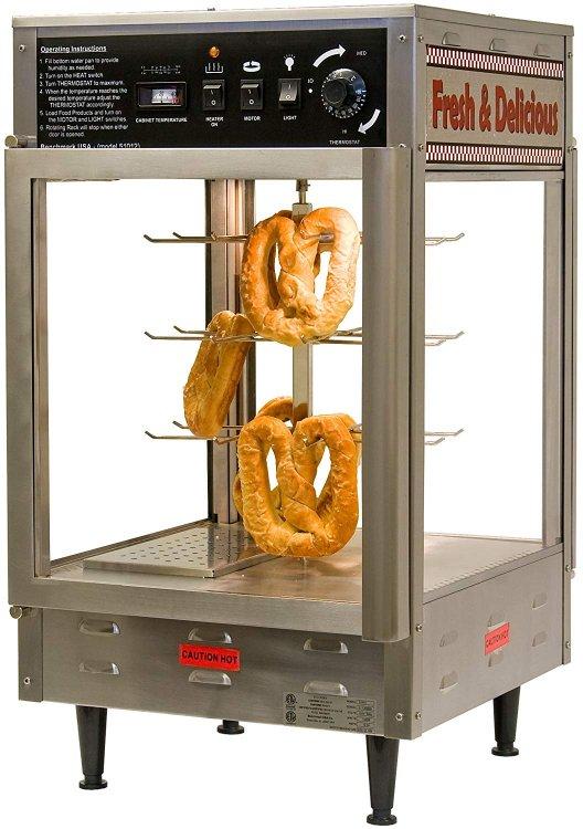 Pretzel/pizza warmer
