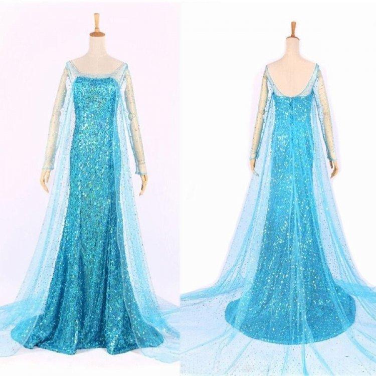 Elsa.Front 407358046 big Elsa - Ice Princess - Costume Only