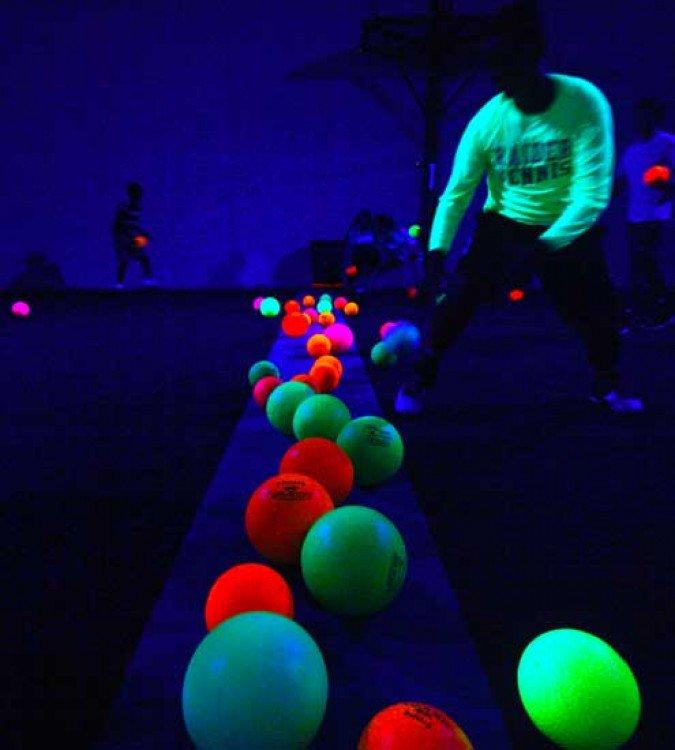Black Light Dodge Ball