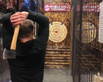 Axe Throwing Game Rentals