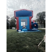 be5972dd5ce62e43ca98f9fd13609da0 Red & Blue Jump Bounce House Combo