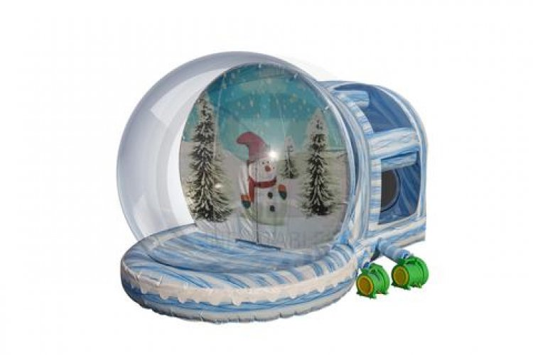 front.side 136032997 big Snow Globe, Human, with easy Chamber Entry