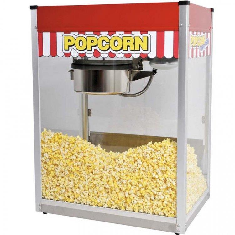 popcorn machine classic pop 16oz popper paragon 462077 big FunFlicks Popcorn Machine w/50 Servings