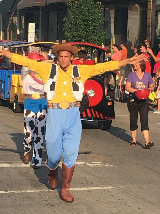 Woody Costume Character