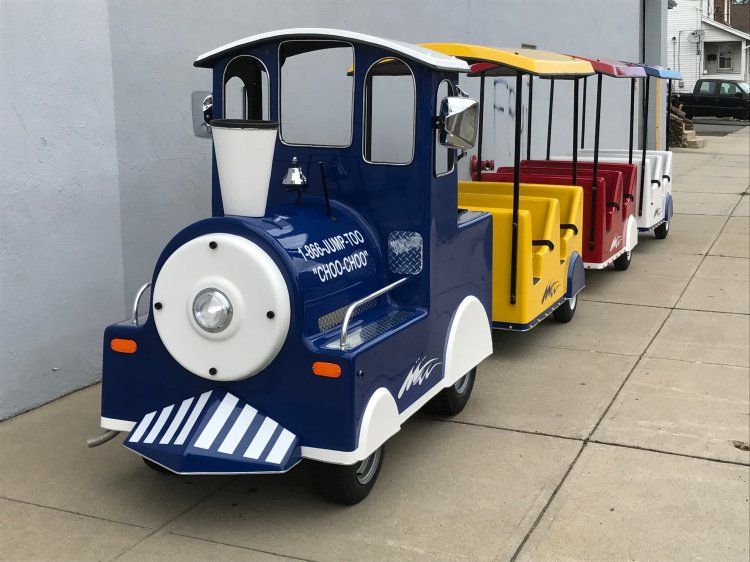 trackless train (gas)